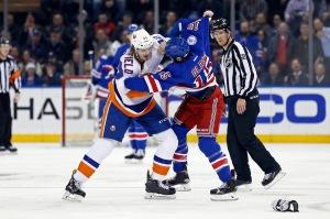 NHL: New York Islanders at New York Rangers