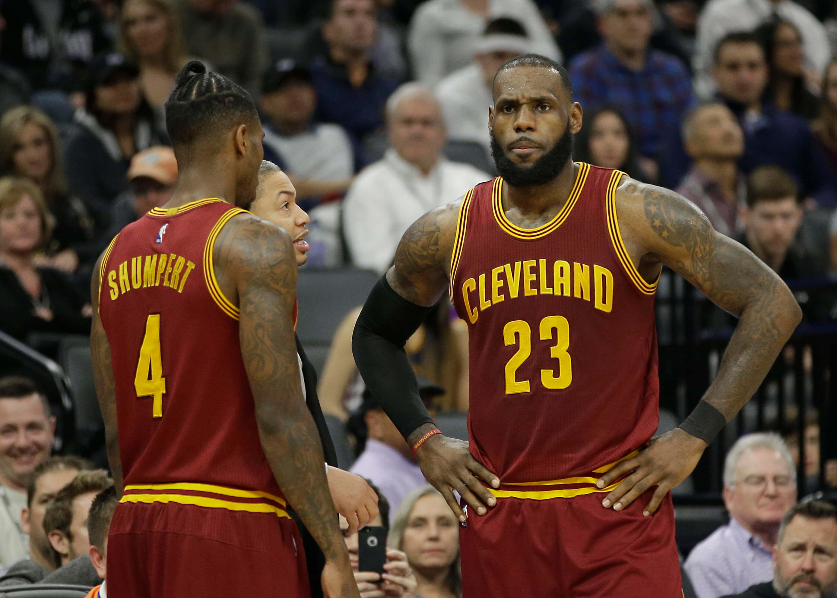 Cavaliers Lebron and Shumpert