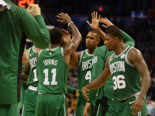NBA: Boston Celtics at Oklahoma City Thunder