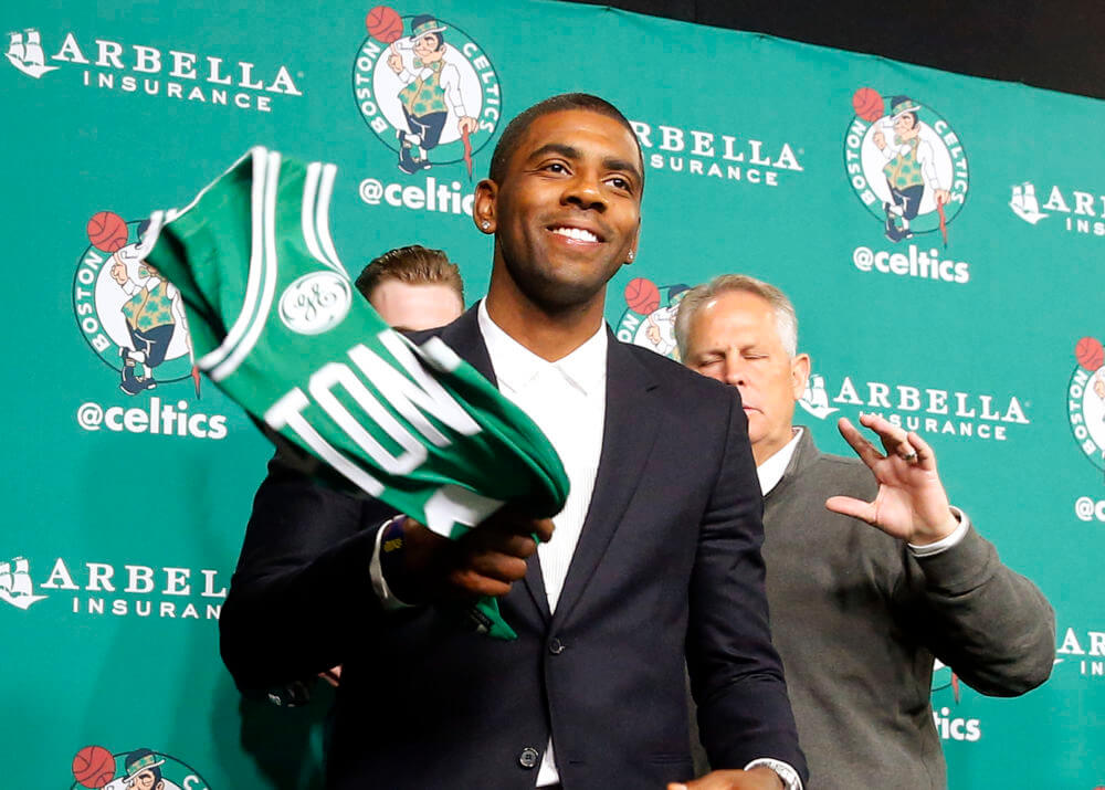 Kyrie Boston Signing