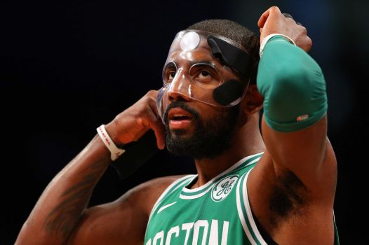 Kyrie Irving masked
