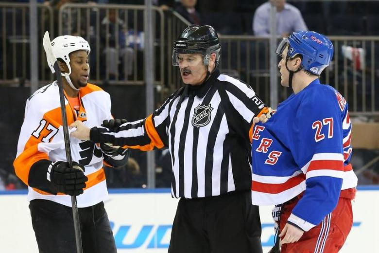 Philadelphia Flyers vs New York Rangers