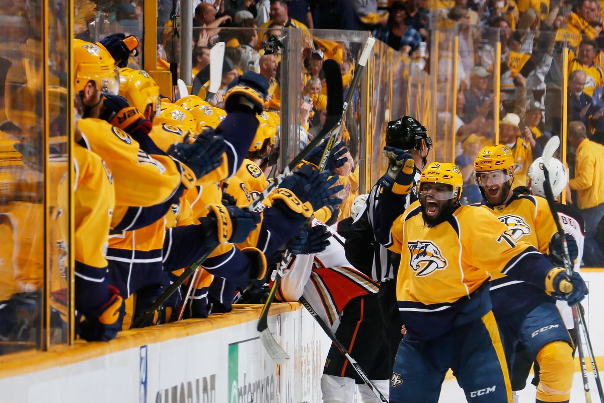 Nashville Predators 2018 offseason