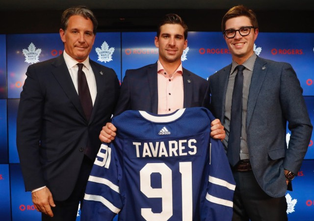 John Tavares Maple Leafs
