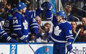 Toronto Maple Leafs Marner and Matthews