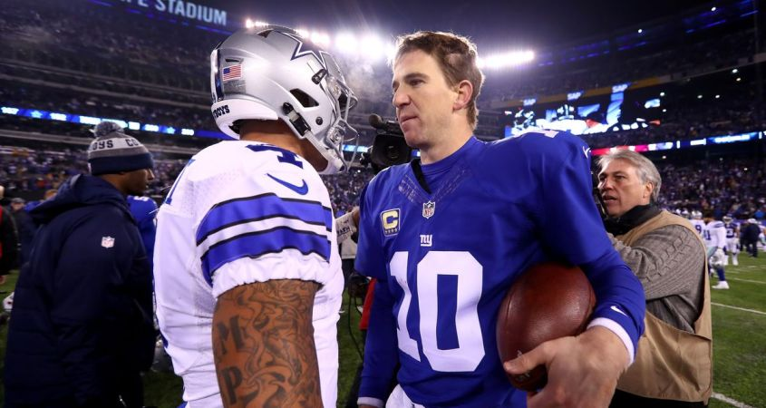 New York Giants vs Dallas Cowboys Week 2