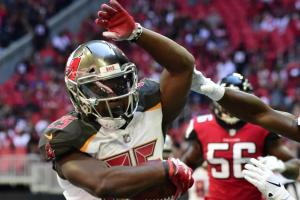 Peyton Barber WEEK 9 waiver wire add
