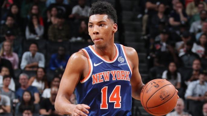 New York Knicks Allonzo Trier
