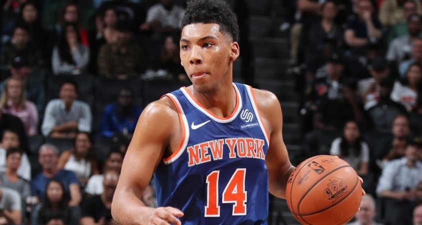 New York Knicks Allonzo Trier