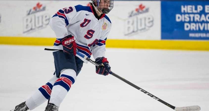 Jack Hughes 2019 NHL Prospect