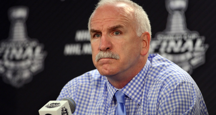 Joel Quenneville Chicago Blackhawks