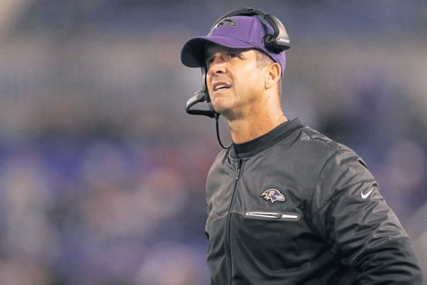 Baltimore Ravens HC John Harbaugh