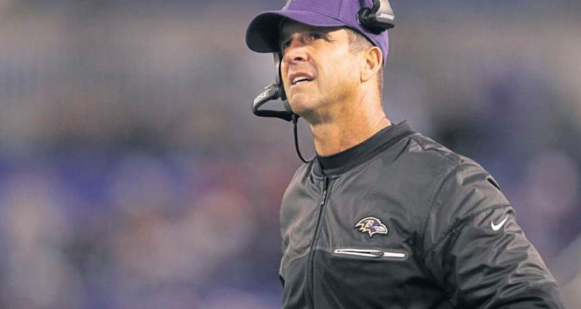Baltimore Ravens HC John Harbaugh