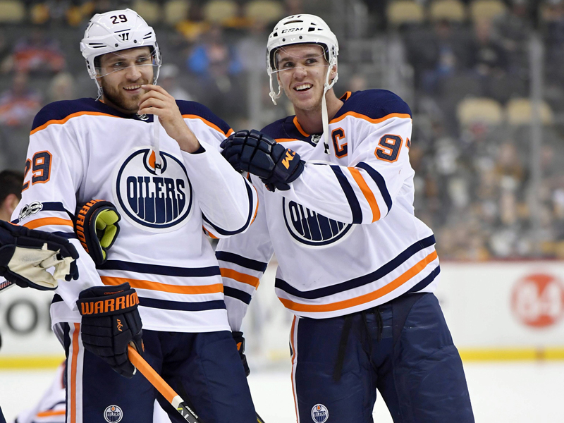 Edmonton Oilers win vs Montreal Canadiens