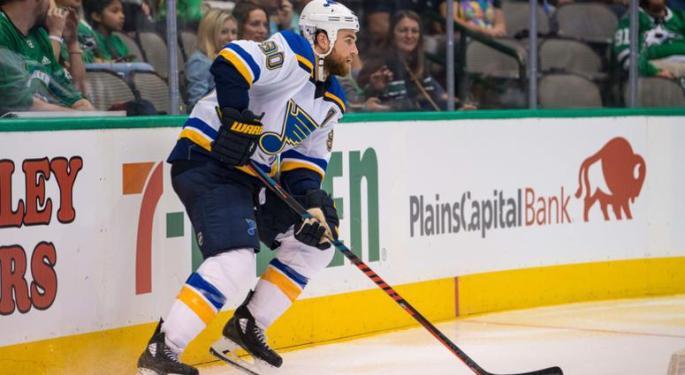 NHL NEWS; St. Louis Bles 2018-19 Start