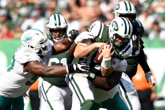 NFL WEEK 9; Jets vs Dolphins