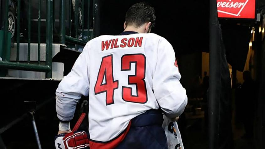 Tom Wilson first game back
