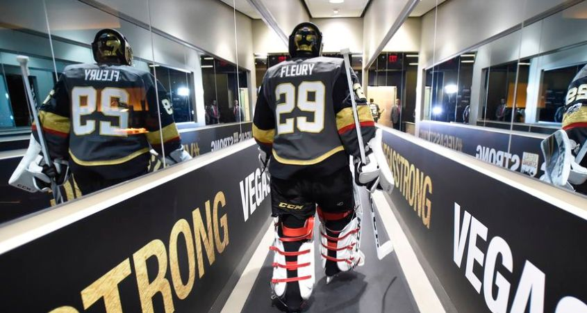 NHL News; Marc Andre Fleury 424th win