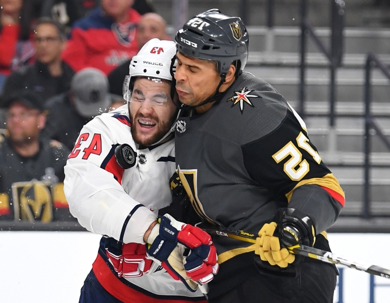 Ryan Reaves hit on Tom Wilson