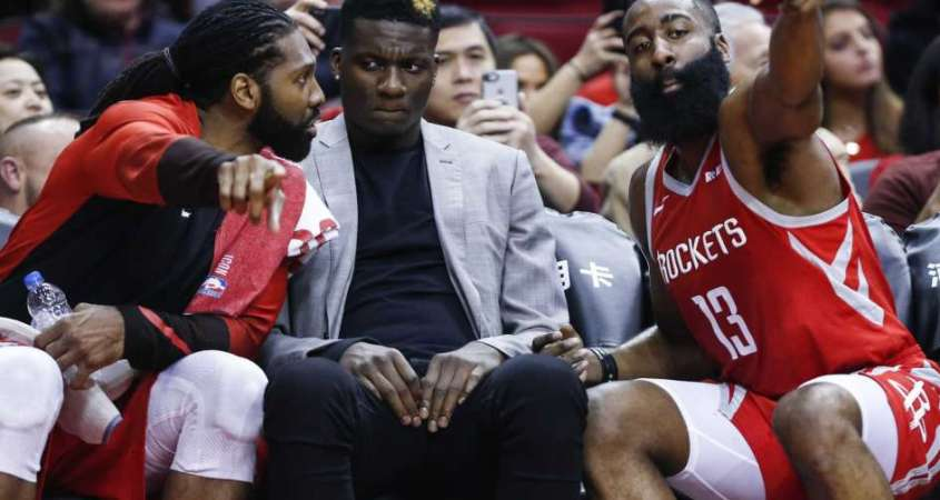 Houston Rockets James Harden Nene Clint Capela