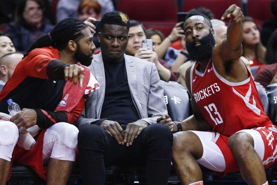 Houston Rockets James Harden Nene Clint Capela