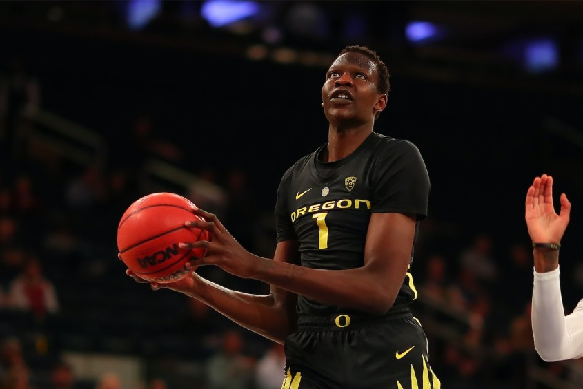Oregon Ducks Center Bol Bol