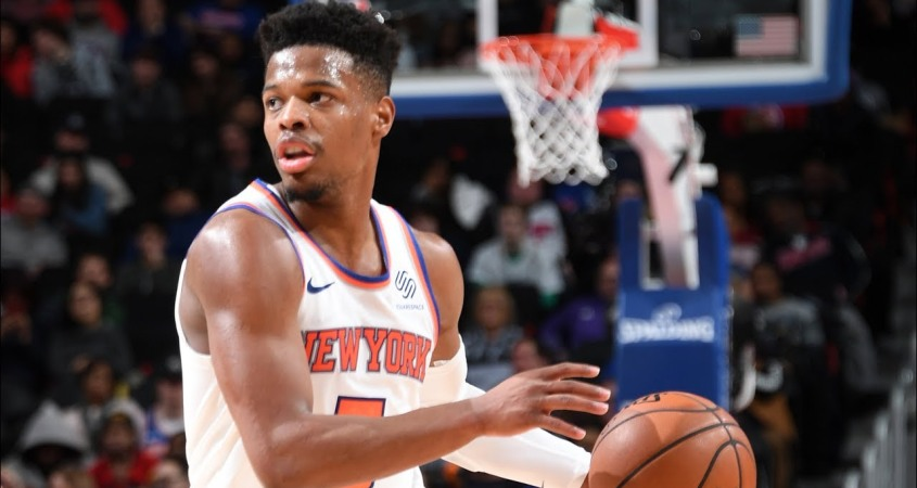 Knicks Guard Dennis Smith Jr.