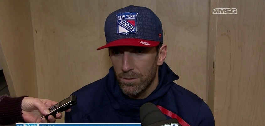 Henrik Lundqvist gets emotional in post game interview
