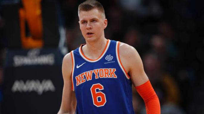 New York Knicks All-Star Kristaps Porzingis was traded to Dallas earlier today