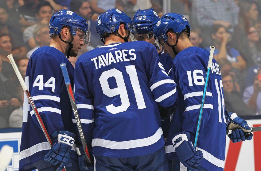 Toronto Maple Leafs vs New York Islanders