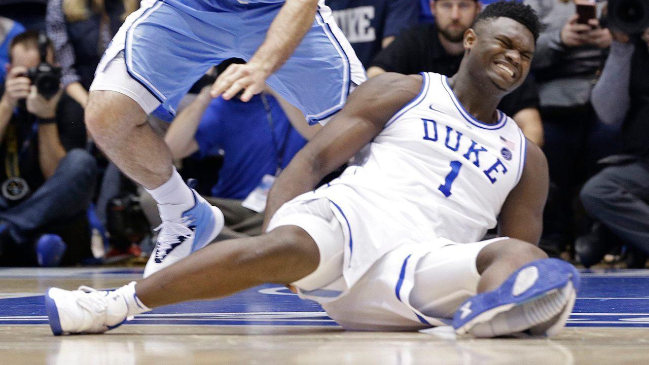 Zion Williamson Injury