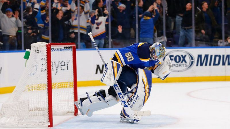 Jordan Binnington Rookie Of The Month