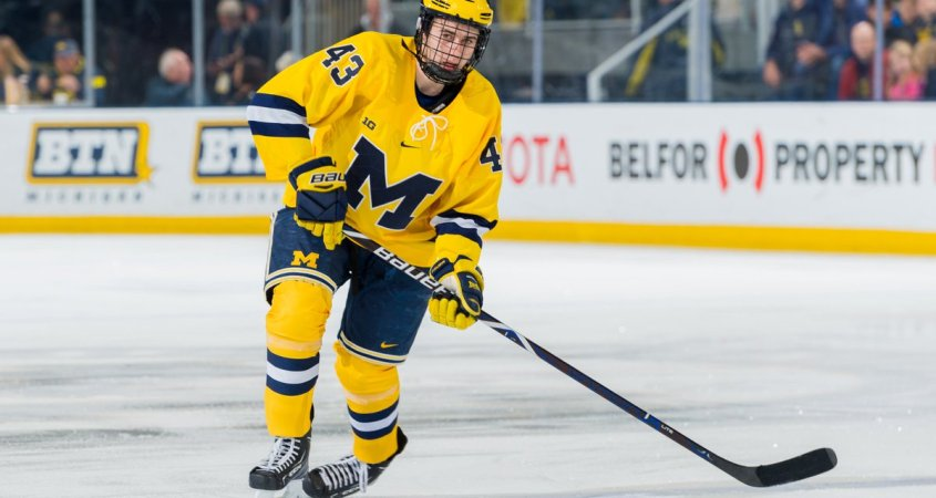 size 40 a73c6 7b463 Vancouver Canucks Sign Quinn Hughes To 3-Year Entry Level ...
